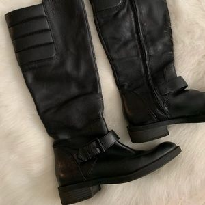 Enzo Angiolini Black Riding Boots